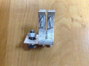 Держатель 250А металл вид сбоку