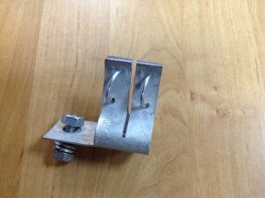 Держатель 400А металл вид сбоку